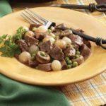 Mushroom-Onion Beef Stew