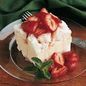 Angel Food Ice Cream Cake