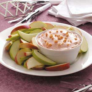 Nutty Caramel Apple Dip