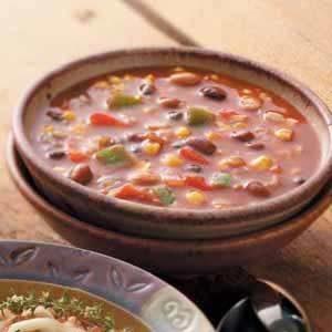 Mexican Bean 'n' Barley Chili