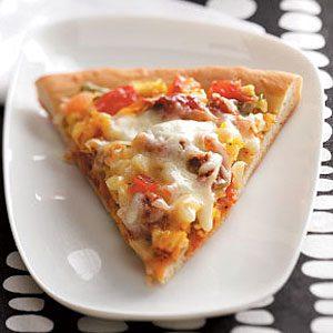 Veggie Breakfast Pizza