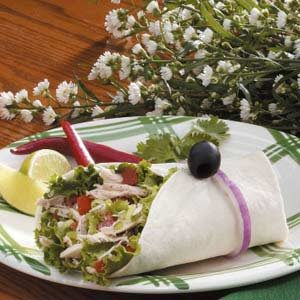 Lime Jalapeno Turkey Wraps