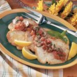 Turkey Cutlets with Tomato Sauce