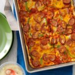 Sausage & Pepper Pizza