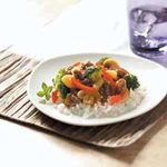 Sweet-and-Sour Beef with Broccoli
