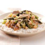 Asparagus Scallop Stir-Fry