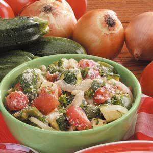 Zucchini Tomato Provencal