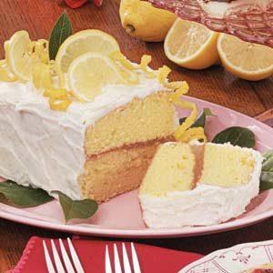 Luscious Lemon Layer Cake