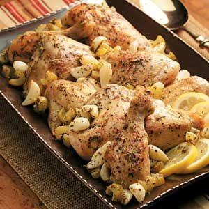 Slow-Cooker Garlic Clove Chicken