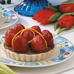Strawberry Truffle Tarts