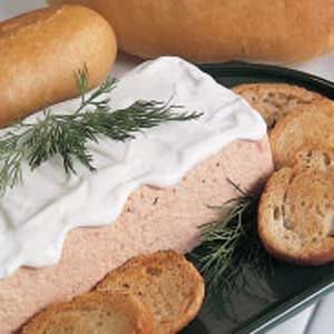 Salmon Spread Loaf
