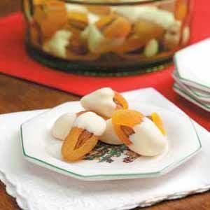 Almond Apricot Dips