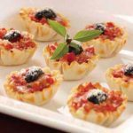 Mozzarella Tomato Tartlets