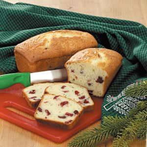 Cranberry Lemon Bread