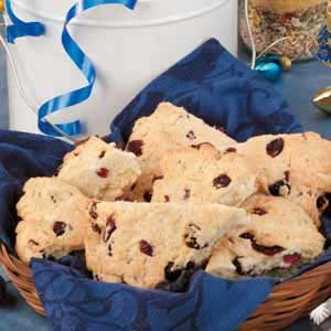 Quick Cranberry Scones