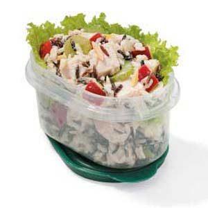 Low-Fat Wild Rice Turkey Salad