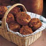 Nutty Rhubarb Muffins