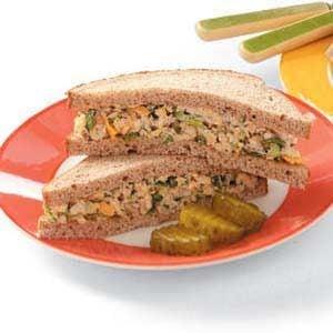 Tuna Cheese Sandwiches