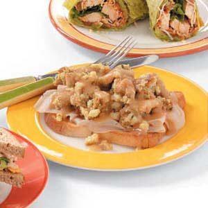 Hot Fast Turkey Sandwiches