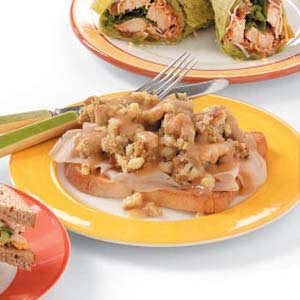 Hot Fast Turkey Sandwiches