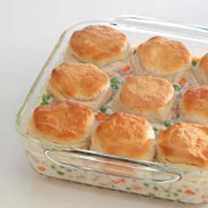 Turkey Biscuit Pot Pie