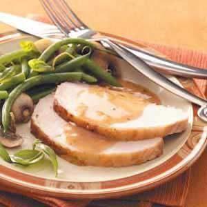 Roast Pork with Currant Sauce