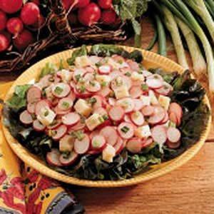 Zippy Radish Salad