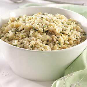 Garlic-Herb Orzo Pilaf