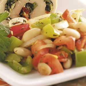 Warm Tuscan Bean Salad