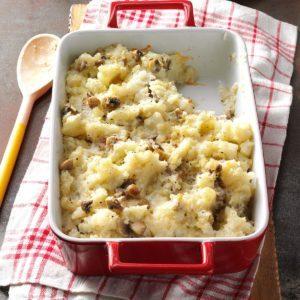 Creamy Mushroom-Potato Bake