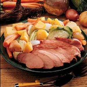 Sunday Boiled Dinner