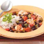 Shrimp 'n' Black Bean Chili