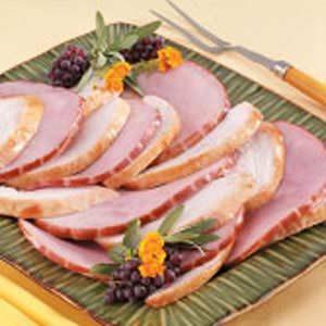 Brazilian-Syle Turkey with Ham