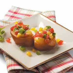 Two-Pepper Bruschetta
