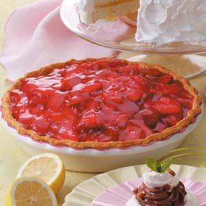 Strawberry Shortbread Pie