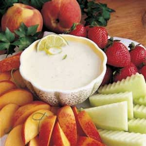 California Fresh Fruit Dip