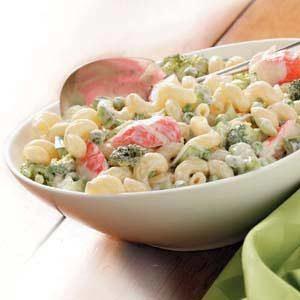 Flavorful Crab Pasta Salad