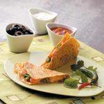 Crab Asparagus Quesadillas