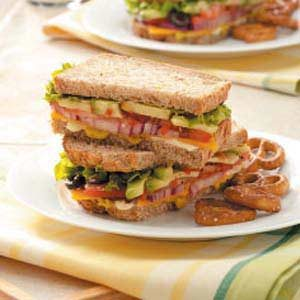 Hearty Veggie Sandwiches