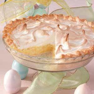 Pineapple Sour Cream Pie