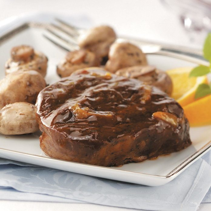 Glazed Beef Tournedos
