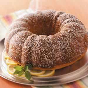 Makeover Sour Cream Coffee Cake
