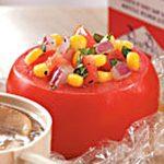 Corn Salad Stuffed Tomatoes