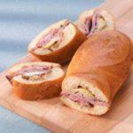 Artichoke-Lamb Sandwich Loaves