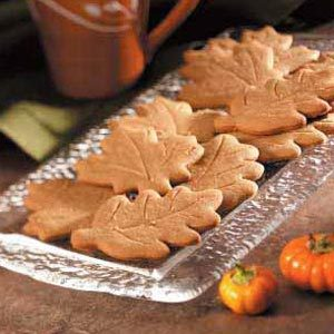 Ginger Leaf Cutouts