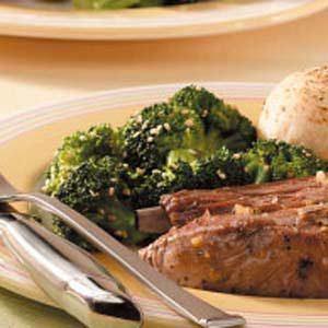 Sesame-Soy Broccoli Florets