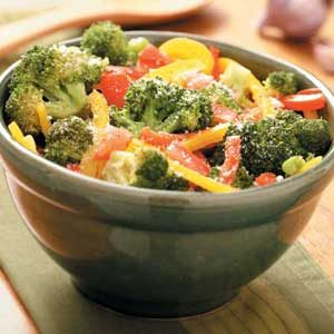 Italian Broccoli with Peppers