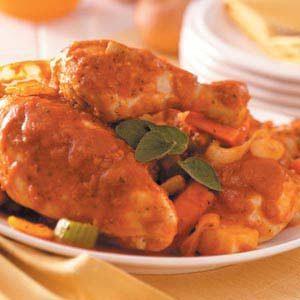 Satisfying Chicken and Veggies