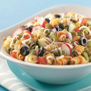 Veggie Spiral Salad