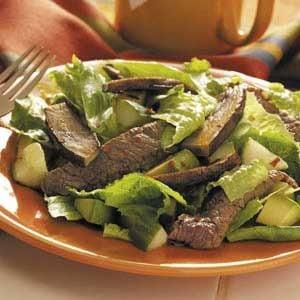 Spicy Teriyaki Beef Salad